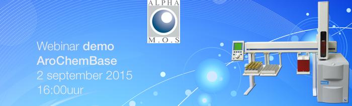 Alpha MOS webinar AroChemBase